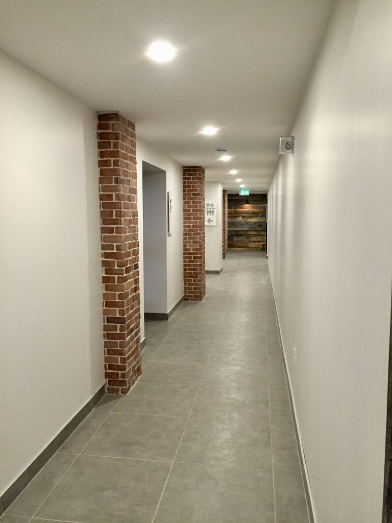 Hallway main level