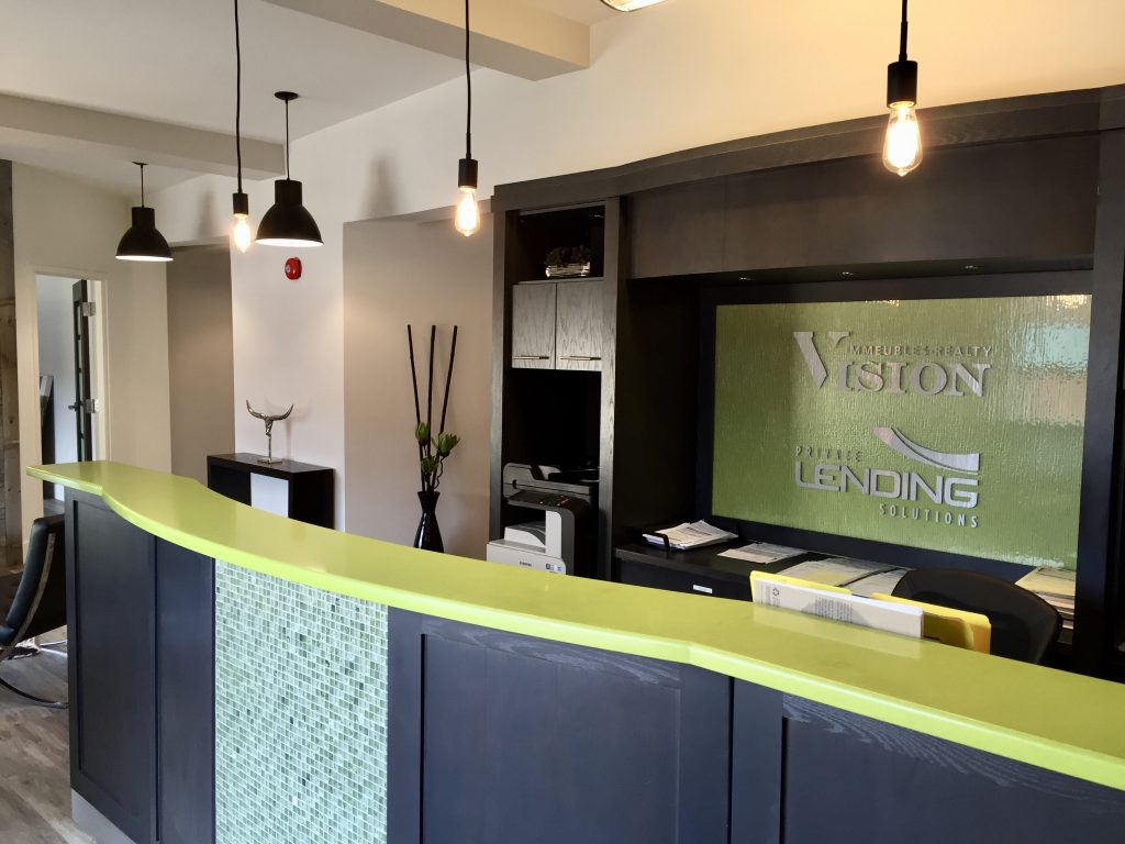 Vision Realty Reception